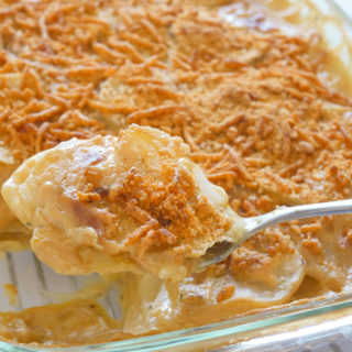 Butternut Squash and Potatoes Au Gratin