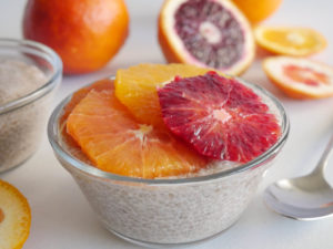 Allergen Free Chia Pudding with Citrus