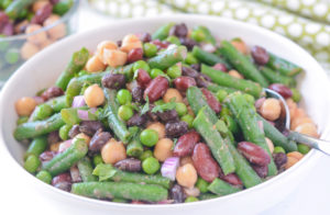 Allergen Free Four Bean Salad