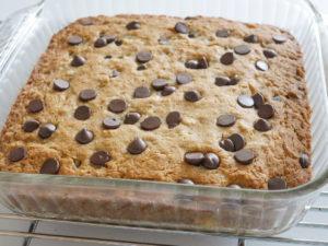 best ever gluten-free banana chocolate chip cake