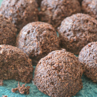 best coconut cacao bites by Your Allergy Chefs