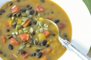 best pumpkin and black bean soup