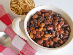 vegan baked beans by Your Allergy Chefs