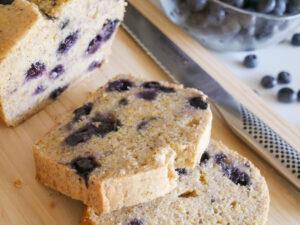 allergy friendly blueberry poundcake